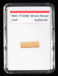 Titanic wreck wood for sale